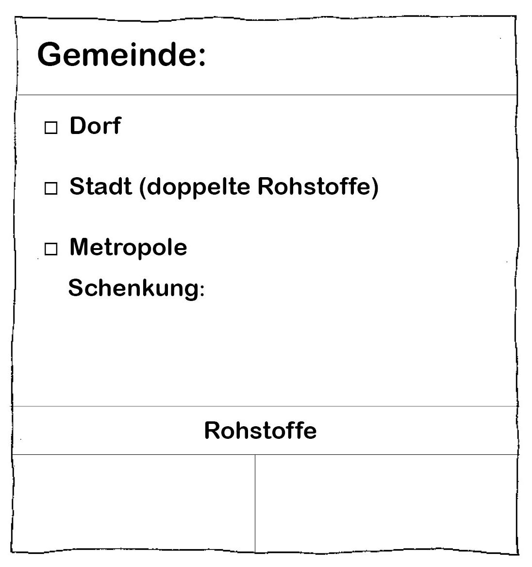 Kopiervorlage Gemeindepass