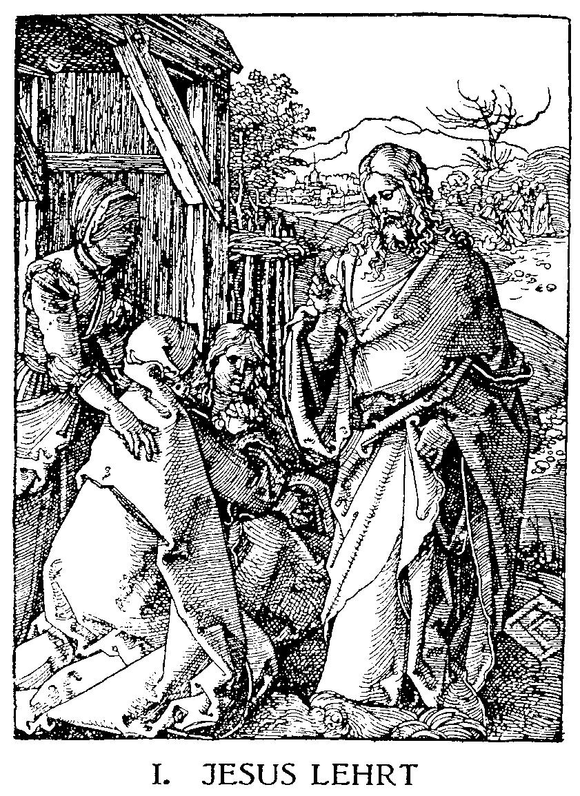 jesus lehrt beten
