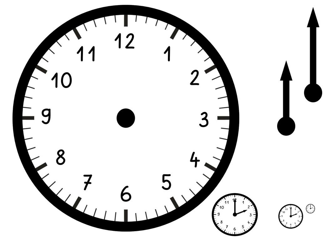 Uhrzeiger vorlage  Messmodelle - Katholische Jungschar Erzdiözese Wien