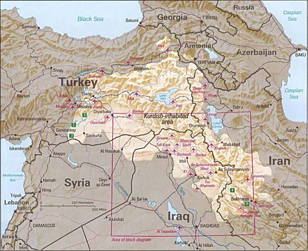 Kurdengebiete